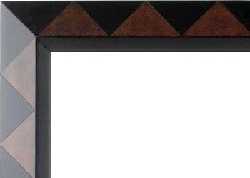baguette de cadre bolzano ethnique cadres coins bouch s. Black Bedroom Furniture Sets. Home Design Ideas