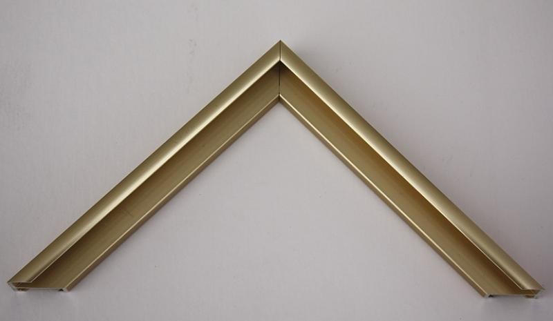 Baguette de cadre al or sat 162053 alu pr coup 45 for Encadrement de porte en aluminium
