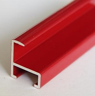 baguette de cadre al rouge bril 162007 alu pr coup 45. Black Bedroom Furniture Sets. Home Design Ideas