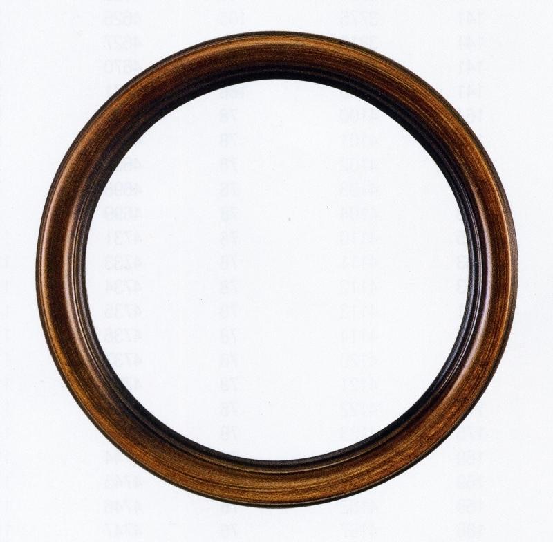 Miroir rond cadre bois miroir design en bois agathe for Cadre miroir rond